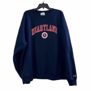 Champion Barstool Sports Heartland Blue Sweatshirt